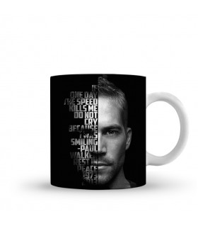 speed kills printed mug